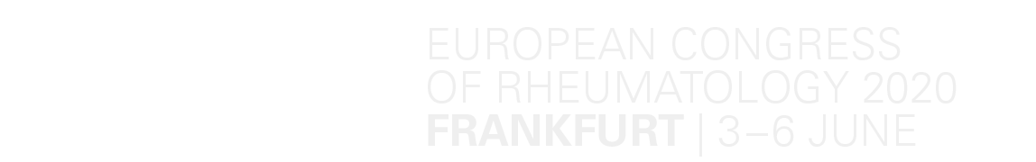 EULAR 2019 – Annual European Congress of Rheumatology